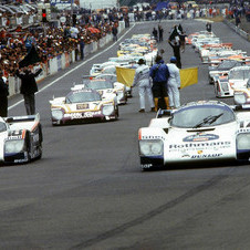 Among the cars at the Festival will be the 1987 Le Mans winning 962