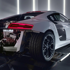 The video is pure and simple and shows the R8 V10 Plus accelerating