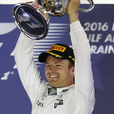 Rosberg took the second win of the season
