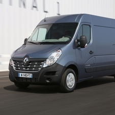 Renault Master Chassis Cabina Dupla Tracção L3 3.5T 2.3 dCi