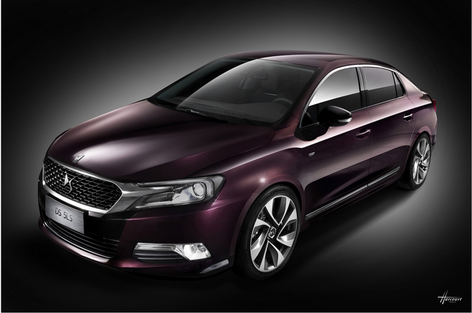 The DS 5 LS will be the top model in the DS range in China