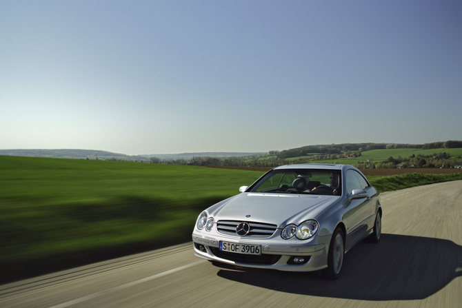 Mercedes-Benz CLK 270 CDI Automatic