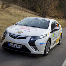 Opel Ampera Wins Alternative Energy Rally Monte Carlo