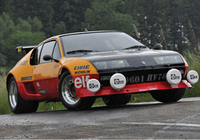 Renault's Group 5 Alpine A310 is quite a rarity