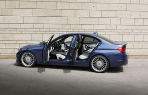 Alpina offers a hand-fitted leather interior