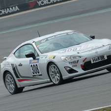 An earlier version of the car won its class at the Nürburgring earlier this year
