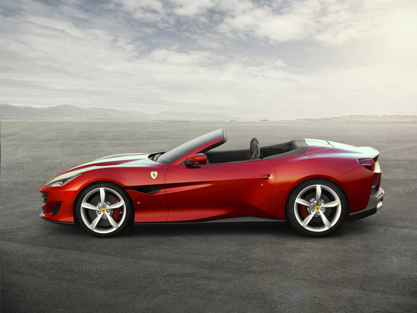 Portofino gets an all-new chassis which represents a significant weight reduction