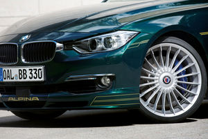 It also gets body upgrades like Alpina wheels and modified aerodynamics