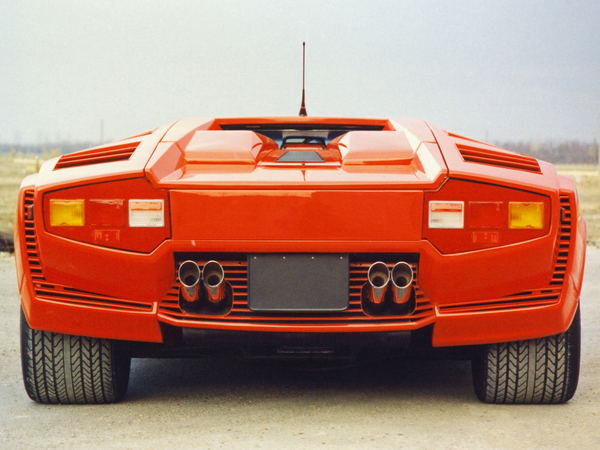 Lamborghini Countach All 9 Versions 78 Photos And 1