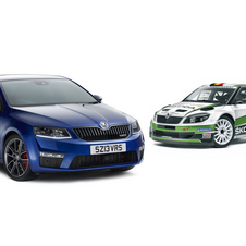 Skoda is also bringing the Fabia S2000 car and new Octavia vRS