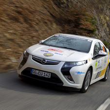 The Ampera won the New Energy Rallye Monte-Carlo last year