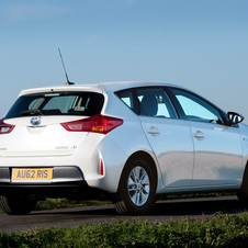 Toyota Auris Hybrid 1.8 E-CVT Icon Plus