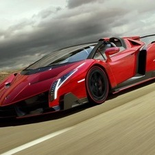 Lamborghini plans to build just nine Veneno Roadsters