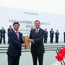 Volkswagen Building New Transmission Factory in China
