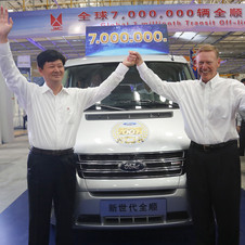 Ford's next step is to get its new commercial vehicles on sale in China