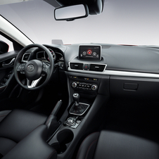 The interior has been simplified over the previous car