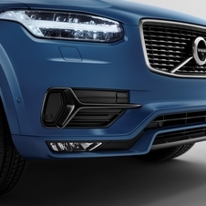 Pormenor da dianteira do XC90 R-Design