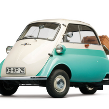 BMW-Isetta Isetta 300 Three-Wheel Special Export Model