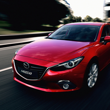 The new Mazda3 is quite aggressive for such and everyday car
