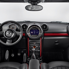 The red trim is an optional extra for the interior