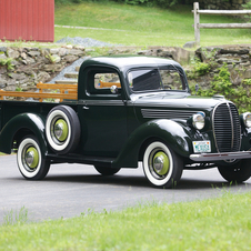 Ford Barrel Grille Half-Ton Pickup Truck