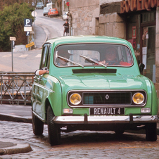 The bestselling French car with sales in excess of eight million units in more than 100 countries, the Renault 4 has become a motoring icone.