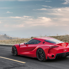 The new Supra will definitely be fitted with hybrid technology