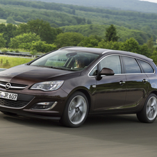 Opel Astra Sports Tourer 1.4 Turbo FlexFuel Selection