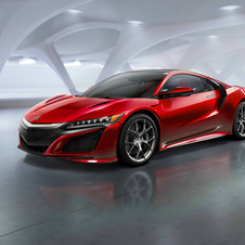 In the center of the NSX performance capabilities is the new V6 with 75 degrees, mounted in a central position