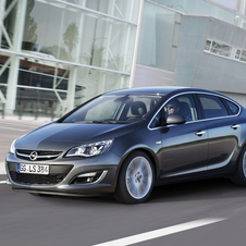 Opel Astra Sedan 1.3 CDTI Selection