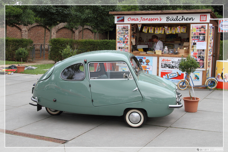 Defend Your Favourite: Two-seater Bubble Cars :: News