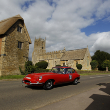 Besides being a good investment, the E-Type is also fun to drive.