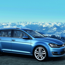Volkswagen also introduced the BlueMotion model