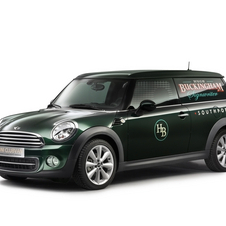Mini Showing Clubvan Concept, Three-Door Delivery Van Concept in Geneva