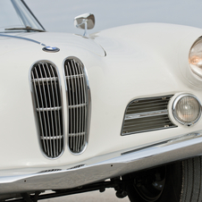 BMW 503 Cabriolet by Bertone