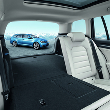 The new Golf Estate has 100 liters more storage room than the previous generation