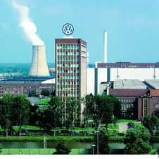 Volkswagen plant in Wolfsburg, Germany