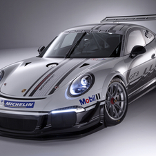 The 911 GT3 Cup was first shown in October