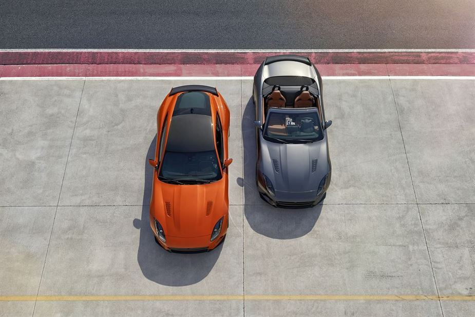 The F-Type SVR was developed to take to the limits the potential of the two-seater aluminum sports car