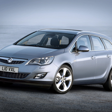 Vauxhall Astra Sports Tourer 2.0 CDTi SRi