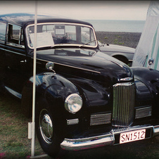 1949 Humber Pullman II Hearse Conversion