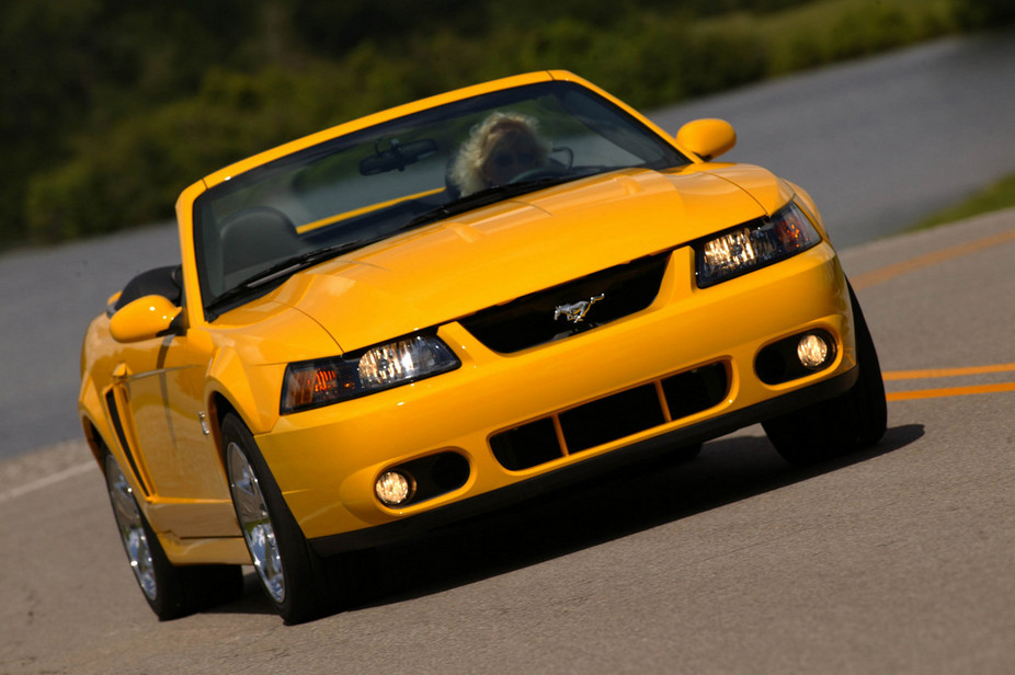 Ford SVT Mustang Cobra Convertible. basic info. spec rating