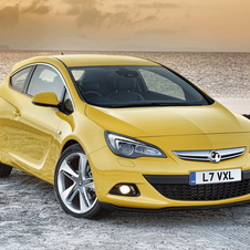 Vauxhall Astra GTC 1.4T Sport S/S