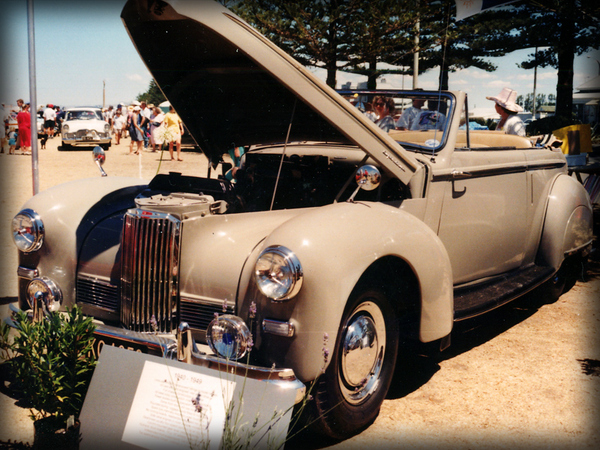 1950 Humber Super Snipe II Tickford Drophead Coupe