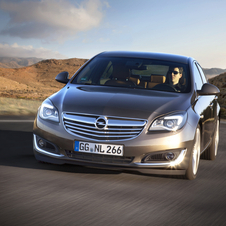 Opel Insignia 1.4 Turbo FlexFuel Selection