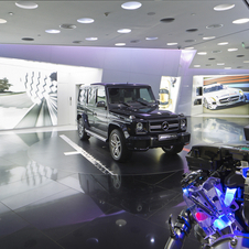 The G63 AMG received its world debut at the Beijing AMG dealer