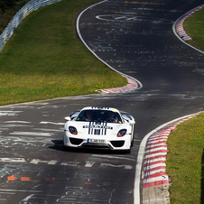 Expect Porsche to bring the car back to set another official time with the finished car