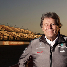 Haug's career at Mercedes has lasted 22 years