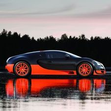The new Veyron is rumored to have 1,500hp or possibly more