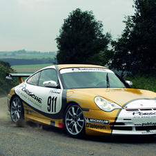 Porsche built a rally version of the GT3 for customer racers